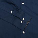 Мужская рубашка Barbour Oxford Midnight Blue фото- 3