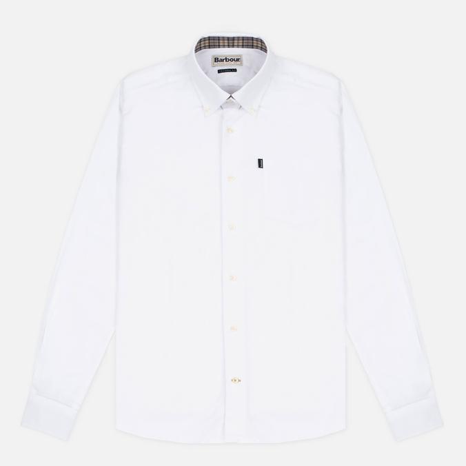 Мужская рубашка Barbour Oxford White