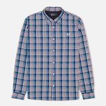 Fred Perry Bold Gingham Men's Shirt Mid Imperial photo- 0
