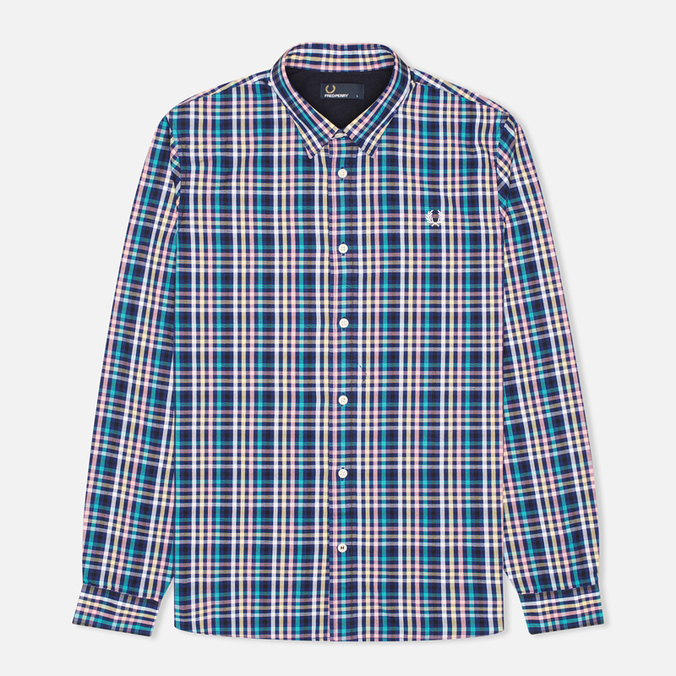 Мужская рубашка Fred Perry Bold Gingham Mid Imperial