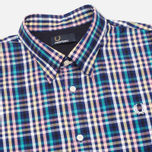 Fred Perry Bold Gingham Men's Shirt Mid Imperial photo- 1