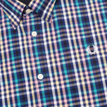 Fred Perry Bold Gingham Men's Shirt Mid Imperial photo- 2