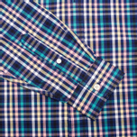 Fred Perry Bold Gingham Men's Shirt Mid Imperial photo- 3