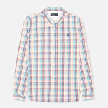 Мужская рубашка Fred Perry Bold Gingham White фото- 0