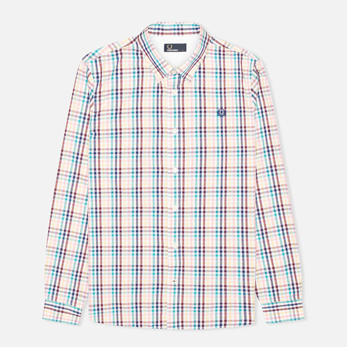 Мужская рубашка Fred Perry Bold Gingham White