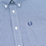 Мужская рубашка Fred Perry Classic Gingham Medieval Blue фото- 2