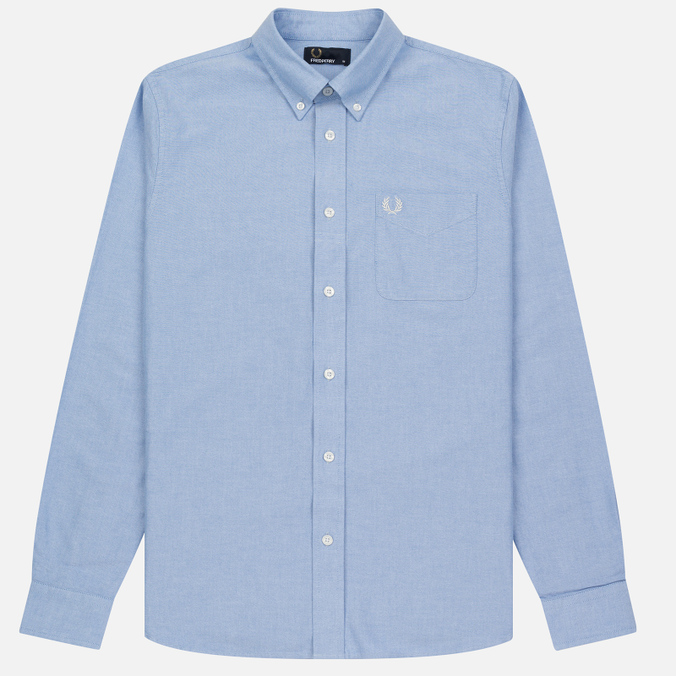 Мужская рубашка Fred Perry Classic Oxford Light Smoke