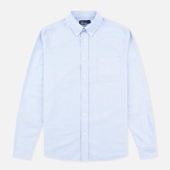 Fred Perry Classic Oxford Men's Shirt Light Smoke