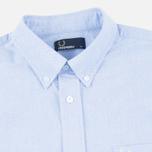 Fred Perry Classic Oxford Men's Shirt Light Smoke photo- 1