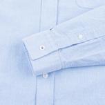 Fred Perry Classic Oxford Men's Shirt Light Smoke photo- 3