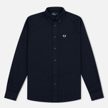 Мужская рубашка Fred Perry Classic Oxford Navy фото- 0