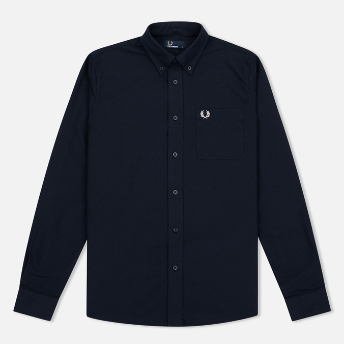 Мужская рубашка Fred Perry Classic Oxford Navy