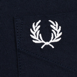 Мужская рубашка Fred Perry Classic Oxford Navy фото- 5