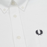 Мужская рубашка Fred Perry Classic Oxford White фото- 4
