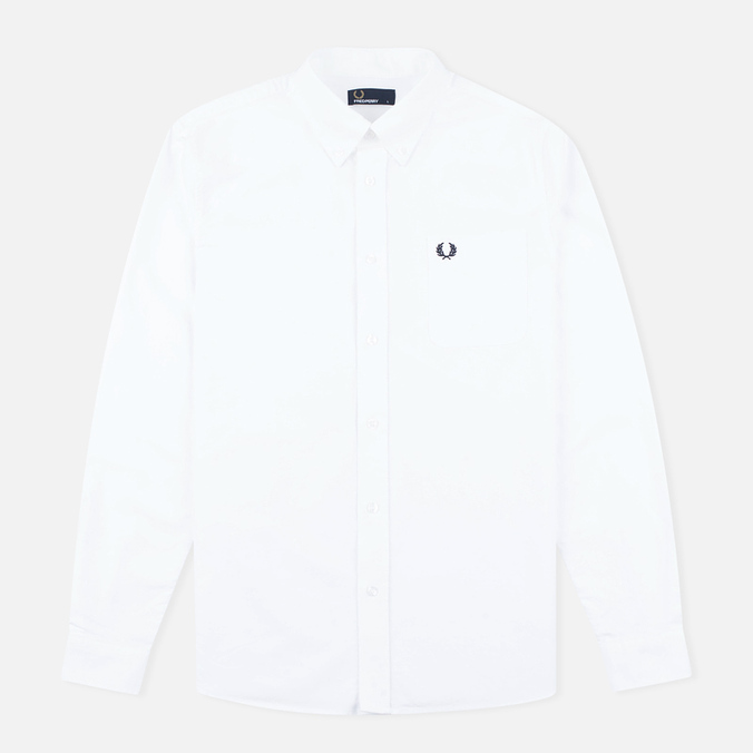 Мужская рубашка Fred Perry Classic Oxford White