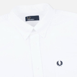 Мужская рубашка Fred Perry Classic Oxford White фото- 1