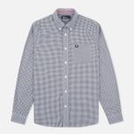 Мужская рубашка Fred Perry Classic Gingham Black фото- 0