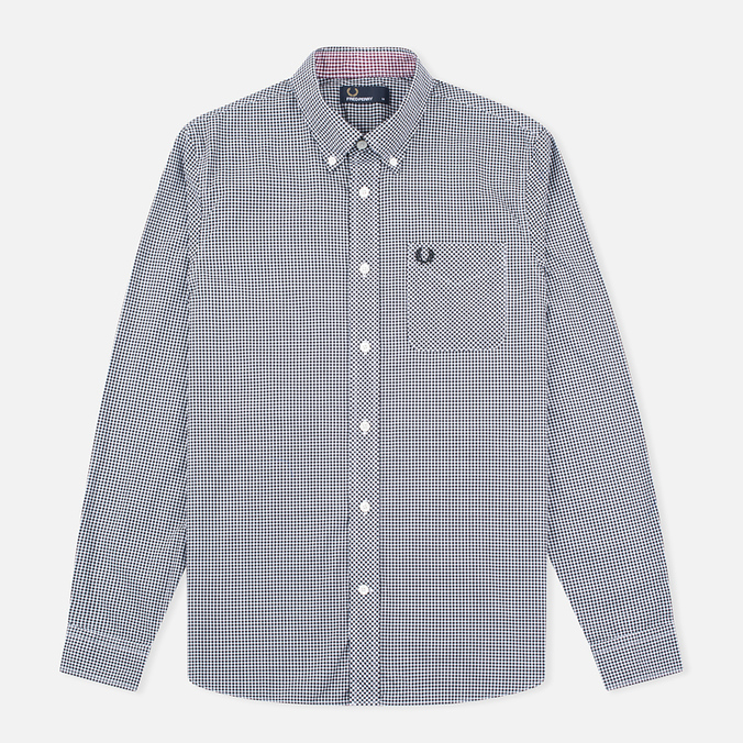 425347ca7d78ab0 Мужская рубашка Fred Perry Classic Gingham Black M6377-102