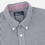 Мужская рубашка Fred Perry Classic Gingham Black фото- 1