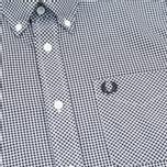 Мужская рубашка Fred Perry Classic Gingham Black фото- 2