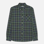 Мужская рубашка Fred Perry Laurel Tartan Green фото- 0