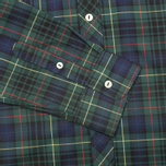 Мужская рубашка Fred Perry Laurel Tartan Green фото- 3