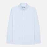 Мужская рубашка Fred Perry Laurel Heavy Oxford Sky фото- 0
