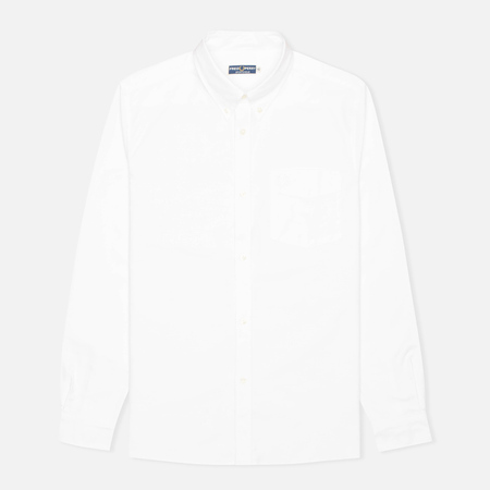 Fred Perry Laurel Reissues Heavy Oxford Men's Shirt White