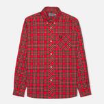 Мужская рубашка Fred Perry Laurel Tartan Red фото- 0