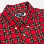 Мужская рубашка Fred Perry Laurel Tartan Red фото- 1