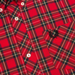 Fred Perry Laurel Tartan Men's Shirt Red photo- 2