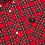 Мужская рубашка Fred Perry Laurel Tartan Red фото- 2