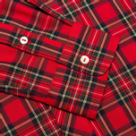 Fred Perry Laurel Tartan Men's Shirt Red photo- 3