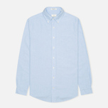 Мужская рубашка Gant Diamond G The Perfect Oxford LS BD Capri Blue фото- 0