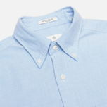 Мужская рубашка Gant Diamond G The Perfect Oxford LS BD Capri Blue фото- 1