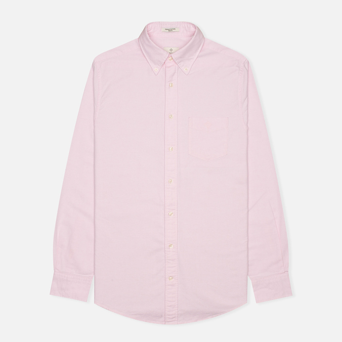 Мужская рубашка Gant Diamond G The Perfect Oxford LS BD Pastel Pink