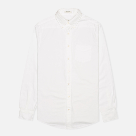 Мужская рубашка Gant Diamond G The Perfect Oxford LS BD White