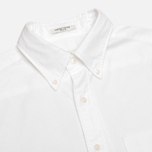 Мужская рубашка Gant Diamond G The Perfect Oxford LS BD White фото- 1