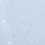 Gant Diamond G The Pinpoint Oxford LS BD Men's Shirt Capri Blue photo- 2