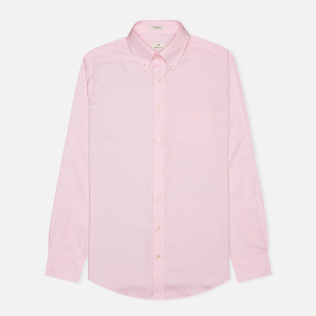 Мужская рубашка Gant Diamond G The Pin Point Oxford LS BD Pastel Pink