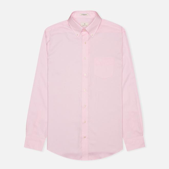 Мужская рубашка Gant The Pin Point Oxford LS BD Pastel Pink