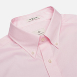 Мужская рубашка Gant Diamond G The Pin Point Oxford LS BD Pastel Pink фото- 1