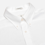 Мужская рубашка Gant Diamond G The Pin Point Oxford LS BD White фото- 1