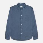 Мужская рубашка Gant Rugger Luxury Indigo фото- 0