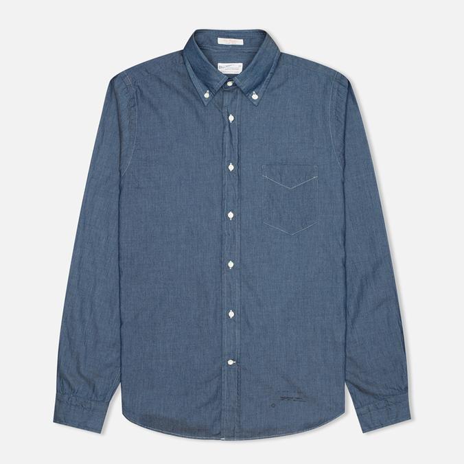 Мужская рубашка Gant Rugger Luxury Indigo