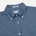 Мужская рубашка Gant Rugger Luxury Indigo фото- 1