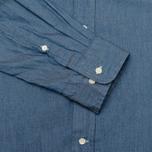 Мужская рубашка Gant Rugger Luxury Indigo фото- 4