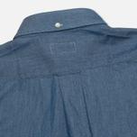 Мужская рубашка Gant Rugger Luxury Indigo фото- 2