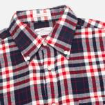 Gant Rugger Winter Twill Classic Men's Shirt Brown photo- 1