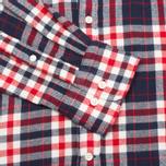 Gant Rugger Winter Twill Classic Men's Shirt Brown photo- 2
